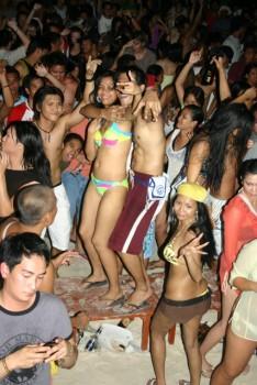 boracay, bora party
