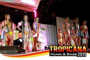 TROPICANA BABE & HUNK WINNERS
