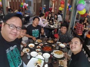 Sox Bloggers at GuiGui grill