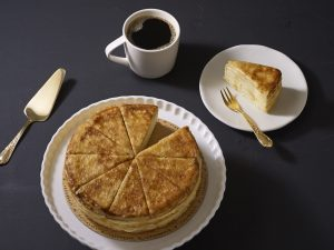 Vanilla Crepe Cake