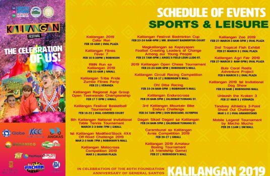 Kalilangan Sports & Leisure events