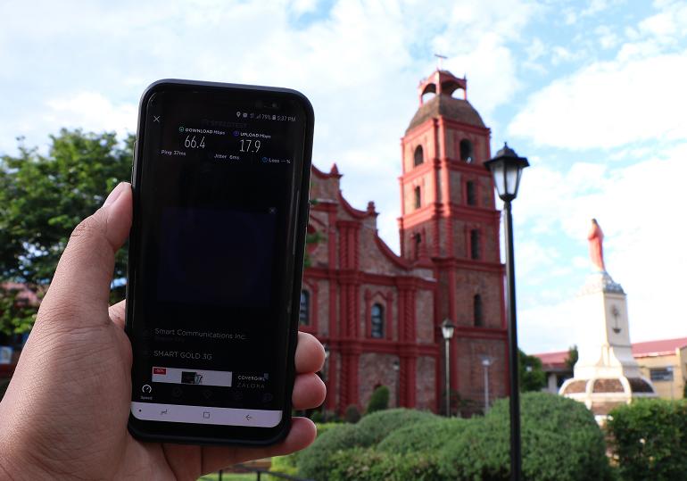 Ookla speedtest in Cagayan