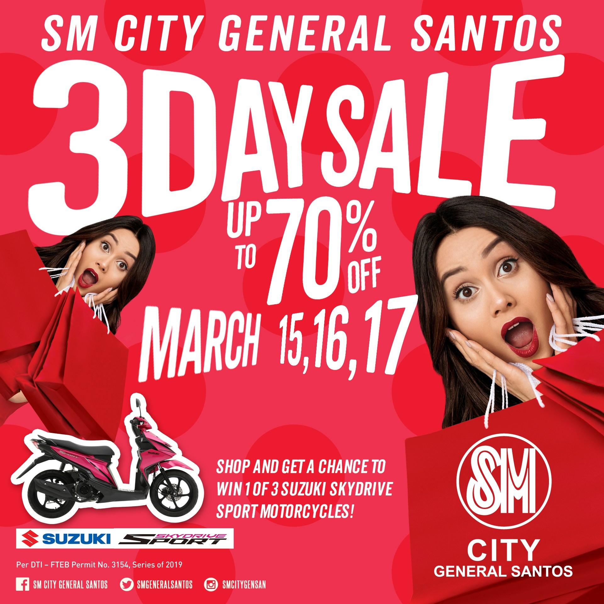 SM Gensan 3Day Sale