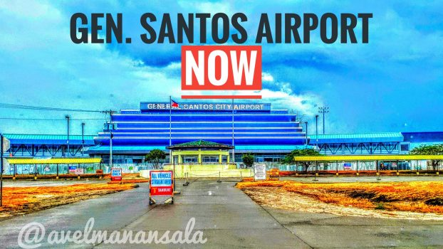 Front facade of the Gensan Airport